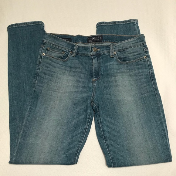 Lucky Brand Denim - Lucky Brand Sweet Straight Jeans, size 8 / 29